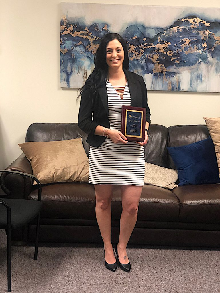 NAFI CT's award-winning Clinical Social Worker Stacey Shaia