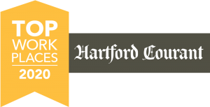 Top Workplaces 2020 award for NAFI CT from The Hartford Courant