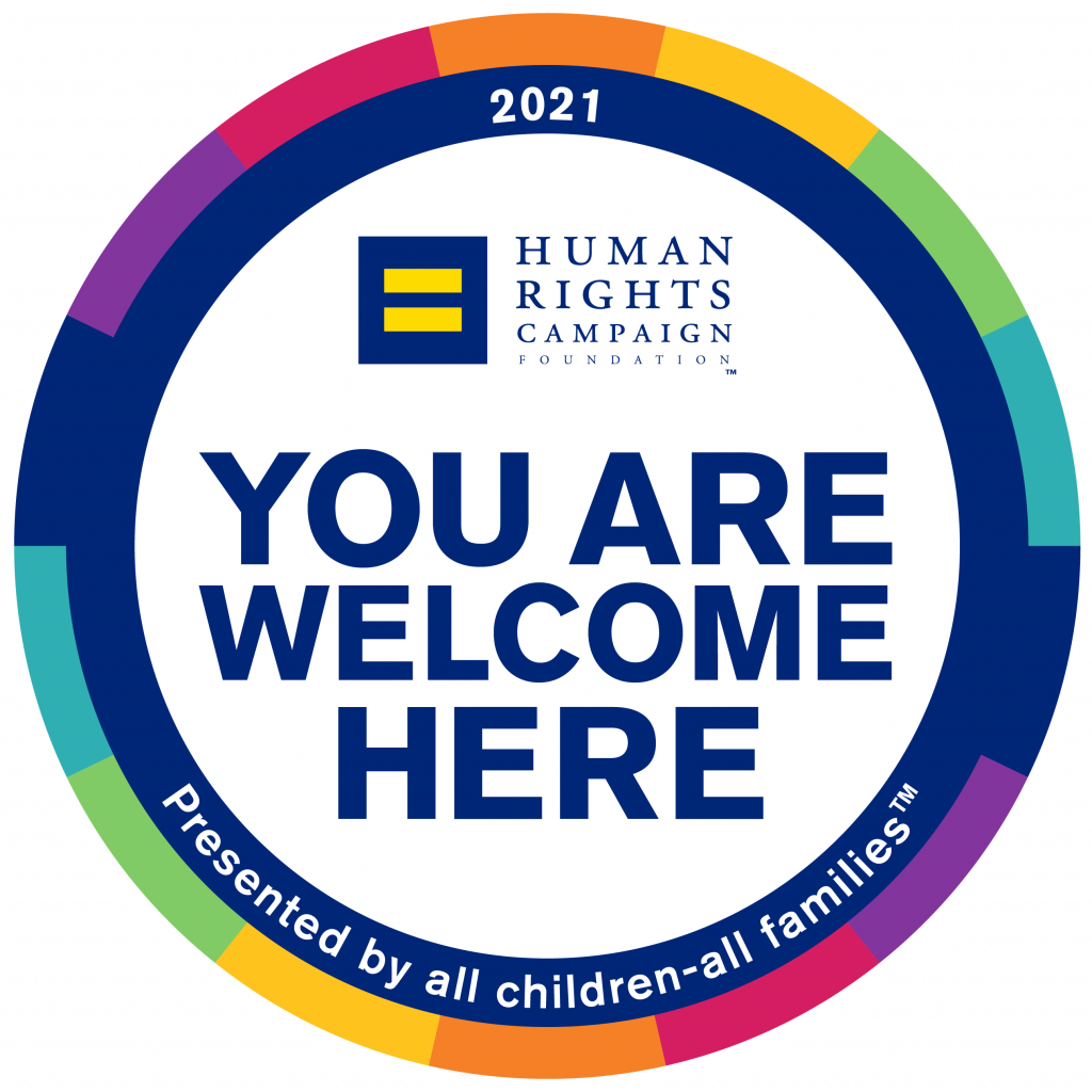 NAFI Connecticut earns a Seal of Recognition from the Human Rights Campaign Foundation for LGBTQ+ Inclusion Efforts.